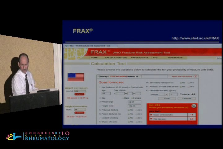 FRAX, WHO Fracture Risk Assessment Tool