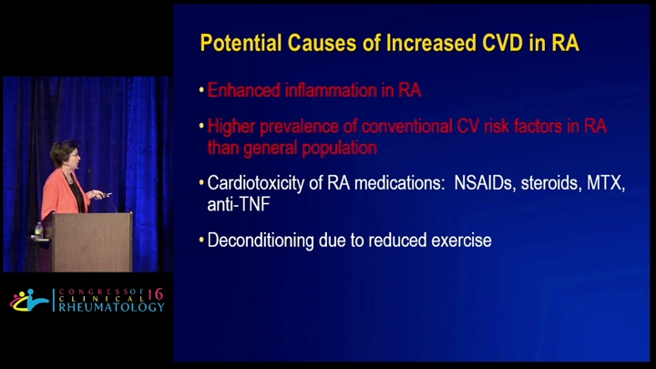 The effect of RA therapies on the outcome of cardiovascular disease, insulin res...