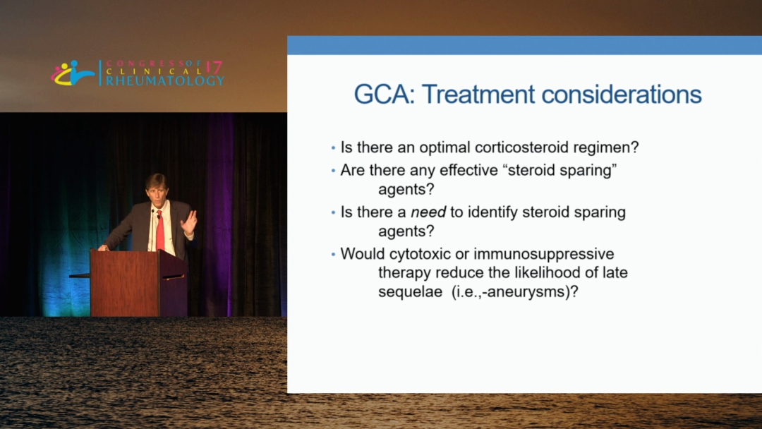 Advances in the Treatment of Giant Cell Arteritis - Robert F. Spiera, M.D.
