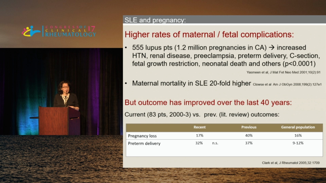 Pregnancy and Medications During Pregnancy in Rheumatic Disease Patients - Lisa R. Sammaritano, M.D.