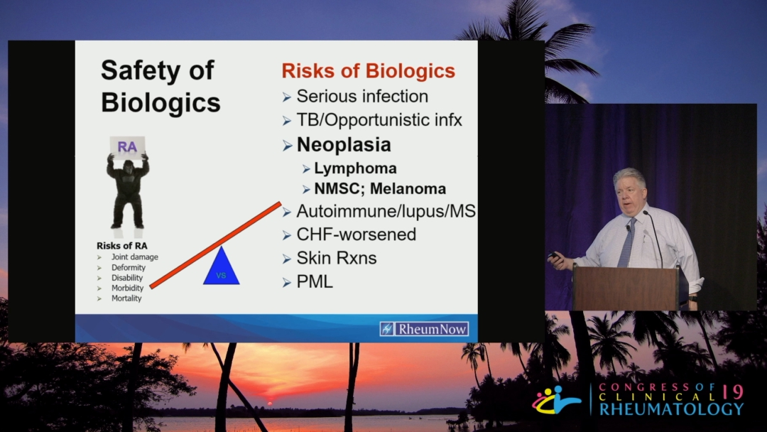 Update in Safety Issues with Biologics & DMARDs - John Cush, M.D.
